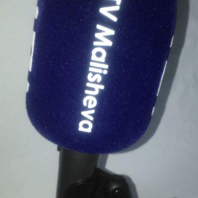 Mikrofon Süngeri Baskı TV Malisheva