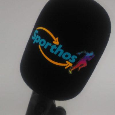 Mikrofon Süngeri Baskı Sporthos