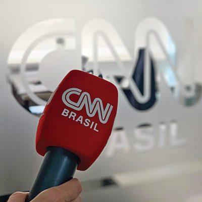 Mikrofon Süngeri Baskı CNN Brazil