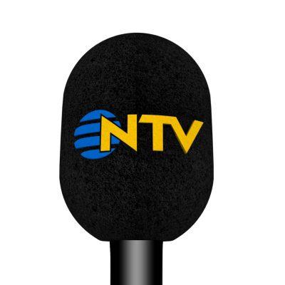 Mikrofon Süngeri Baskı NTV